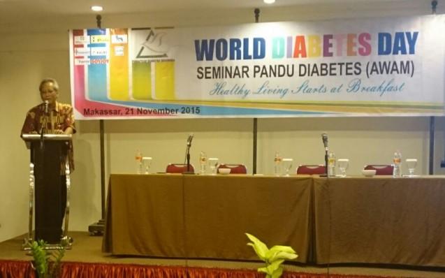 Jambore Diabetes Nasional (JDN) 2015 di Makassar